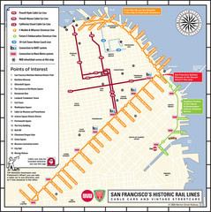 San Francisco Historic Rail Map