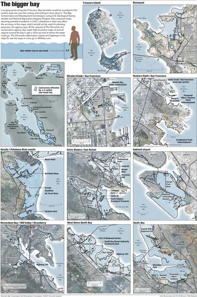 San francisco sea level rise map san francisco ca us mappery fullsize san francisco sea level rise map publicscrutiny Images