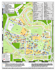 San Francisco State University Map