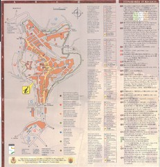 San Gimignano Map