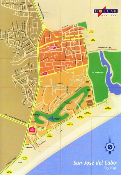 San Jose Del Cabo Mexico Map.San Jose Del Cabo Map San Jose Del Cabo Mexico Mappery