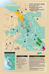San Jose Enterprise Zone map