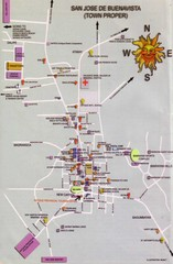 San Jose Tourist Map