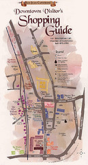 San Juan Capistrano Shopping Center Guide Map
