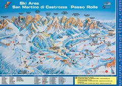 San Martino di Cartozza Ski Trail Map