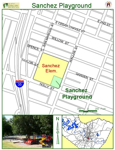 Sanchez Playground Map