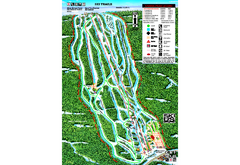 Sandia Peak Ski Area Ski Trail Map
