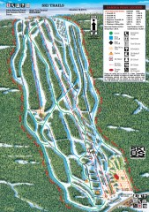 Sandia Peak Ski Trail Map