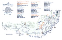 Sanibel Island Tourist Map