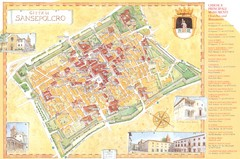 Sansepolcro Map
