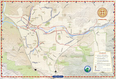 Santa Clarita Trail Map