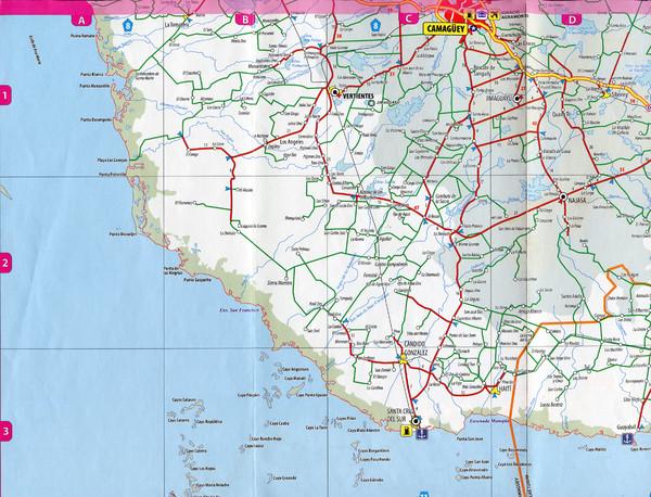 Camaguey City Map Camaguey Cuba mappery