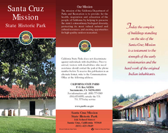 Santa Cruz Mission State Historic Park Map