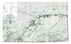 Santa Fe Trail Visitor Map