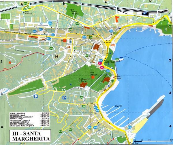Genoa Tourist Map Genoa Italy Mappery - Italy map genoa