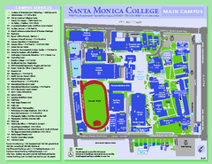 Santa Monica College Campus Map
