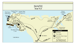 Santee State Park Map