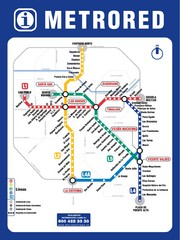 Santiago Chile Subway Map