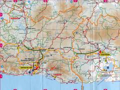 Santiago De Cuba Guantanamo Road Map