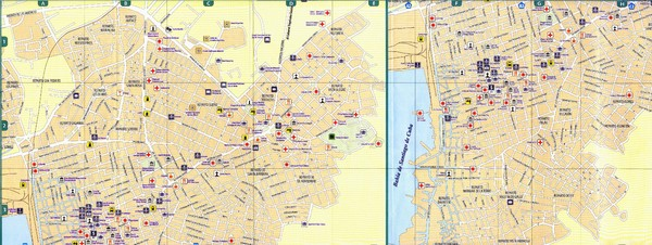 Santiago de Cuba Map Santiago de Cuba mappery