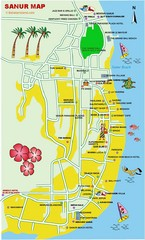 Sanur Guide Map