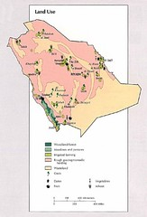 Saudi Arabia Land Use Map