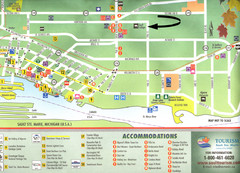 Sault Ste Marie Tourist Map