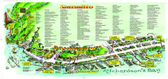 Sausalito Tourist Map
