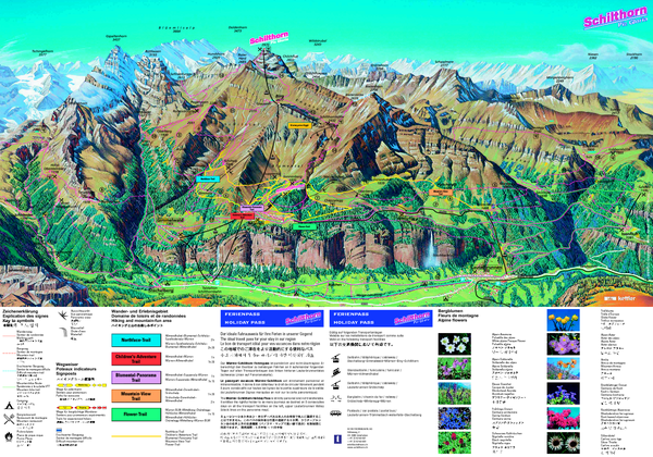 Schilthorn Summer Trail Map
