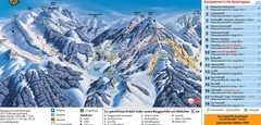 Schliersee Ski Trail Map
