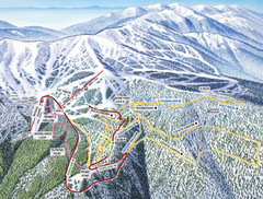 Schweitzer Mountain Trail Map