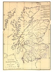 Scotland Glaciation Map
