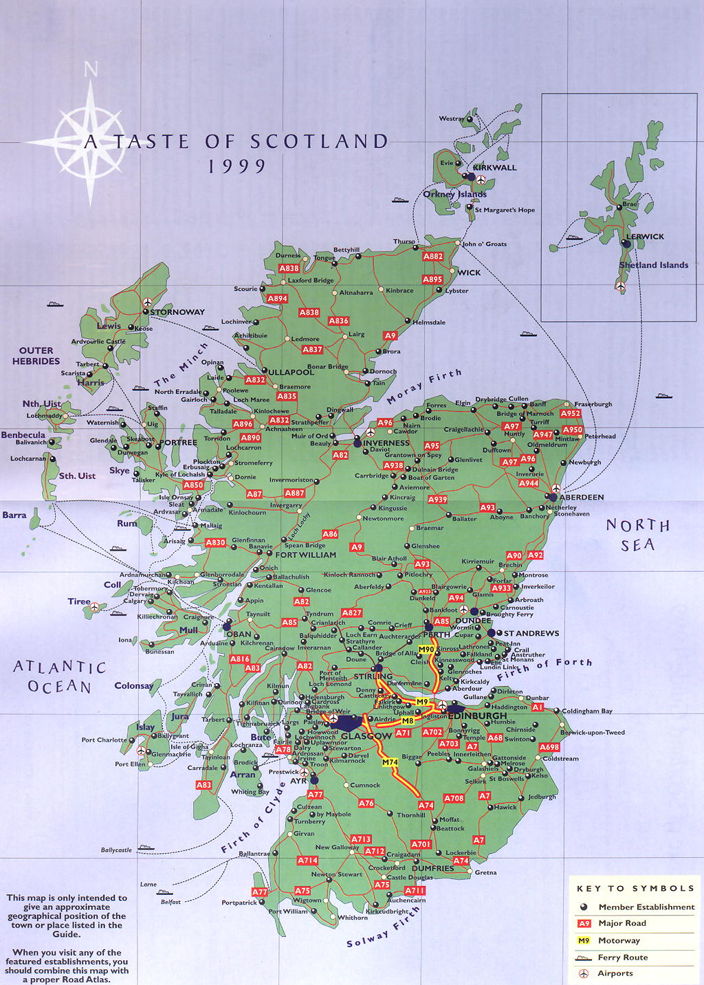 It is a photo of Soft Printable Map of Scotland