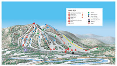 Searchmont Resort Ski Trail Map
