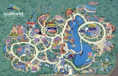 Seaworld Map Orlando
