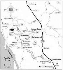 Sebastopol Map