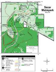 Secor Metropark Map