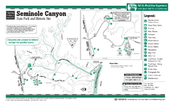 Seminole Canyon, Texas State Park Facility and...