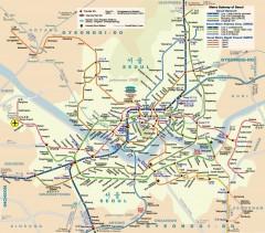 Gangnam Tourist Map Gangnam Mappery