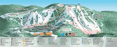 Seven Springs Mountain Resort Ski Trail Map