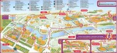 Seville Tourist Map