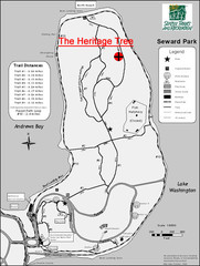 Seward Park Trails Map