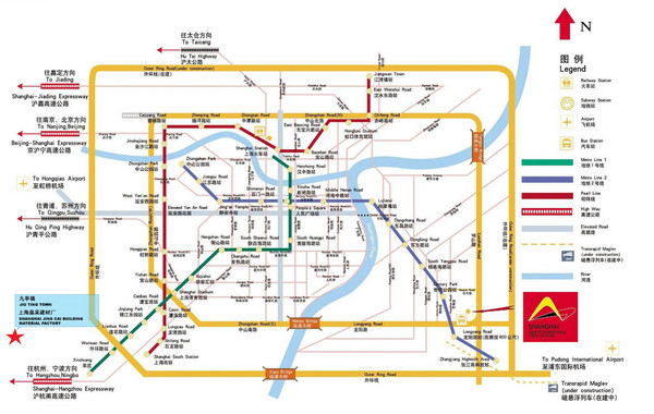 Shanghai maps mappery – Shanghai Tourist Attractions Map