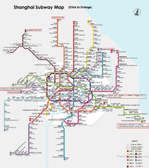 Shanghai Subway Map