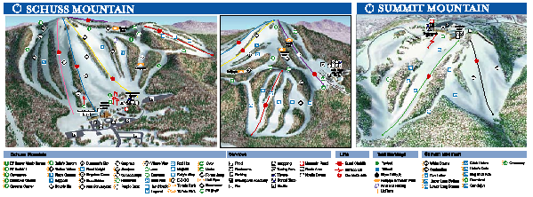 Shanty Creek Ski Trail Map