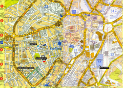 Sheffield City Center Map