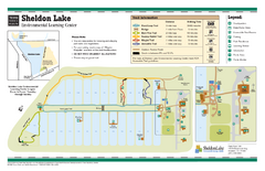 Sheldon Lake, Texas State Park Map