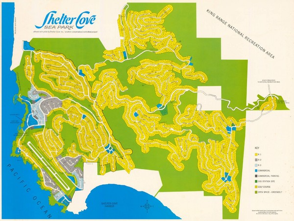 Shelter Cove Map