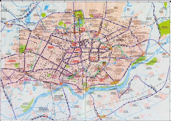 Shenyang Tourist Map