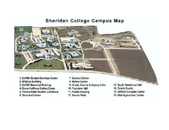 Sheridan College Campus Map